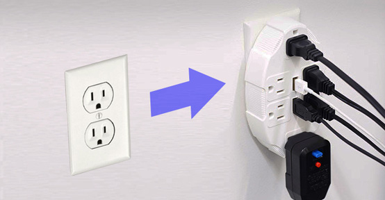 USB Outlet Multiplier by IdeaWorks